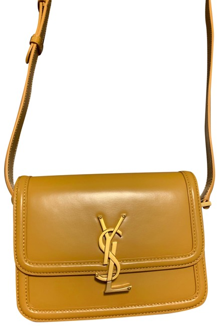 Item - Solferino Small With Yellow Leather Cross Body Bag