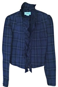 Tommy green plaid Blazer