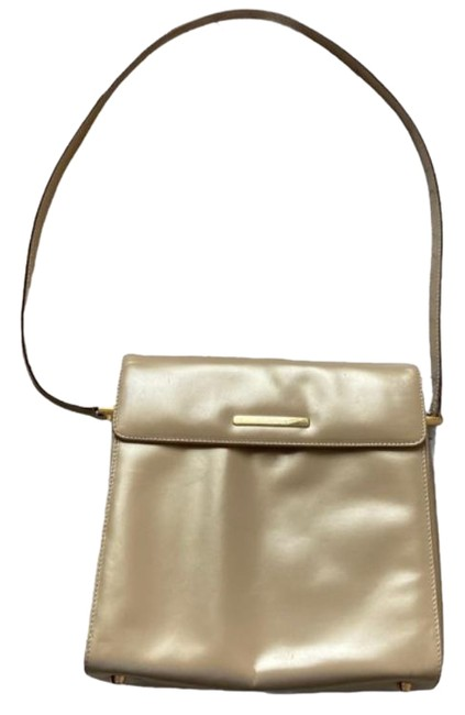 Item - Gold Cream Shoulder Bag
