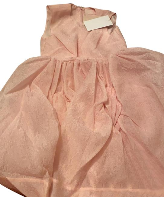 Item - Pink H&m Mid-length Short Casual Dress Size 4 (S)