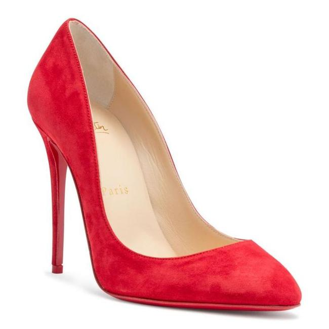 Item - Red Eloise 100 Suede Pumps Size EU 38.5 (Approx. US 8.5) Regular (M, B)