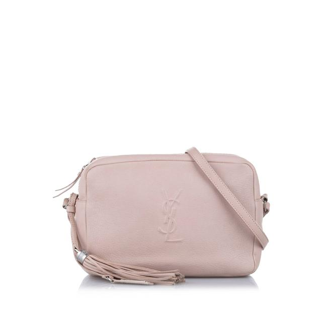 Item - Lou Pink Leather Cross Body Bag