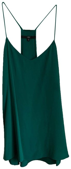 Item - Green *rare Color* Classic Silk Racer Back Camisole Tank Top/Cami Size 6 (S)