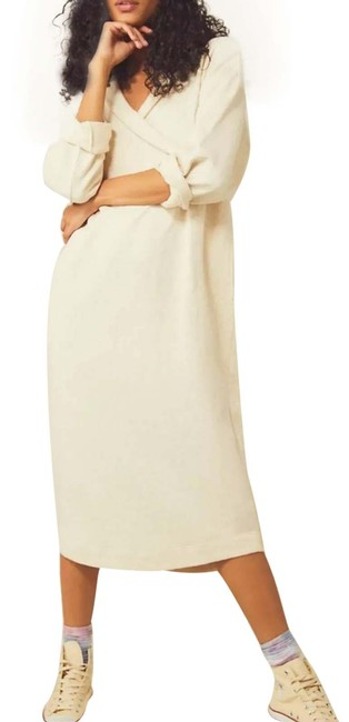 Item - Cream Beach Lakeside Pullover Sweater Casual Maxi Dress Size 4 (S)