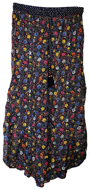 Item - Blue New Floral Pants Small Floral Print Cover-up/Sarong Size 6 (S)