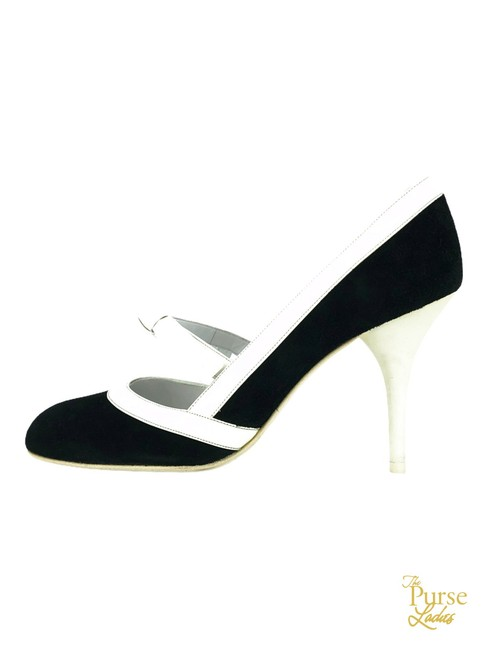 Item - Black Suede Mary Jane Classic #33845 Pumps Size EU 38 (Approx. US 8) Regular (M, B)