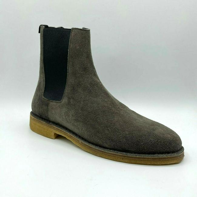 Item - Grey Men Suede Nevada 20 Chelsea Ankle Boot 40.5/Us 7.5 442376 2853 Shoes