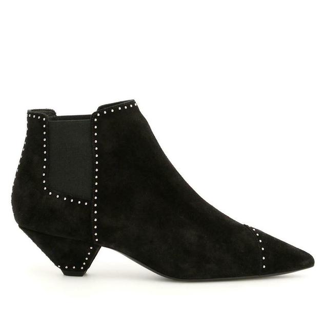 Item - Black Women's Suede Studded Ankle 36/Us 532460 Boots/Booties Size US 6 Regular (M, B)