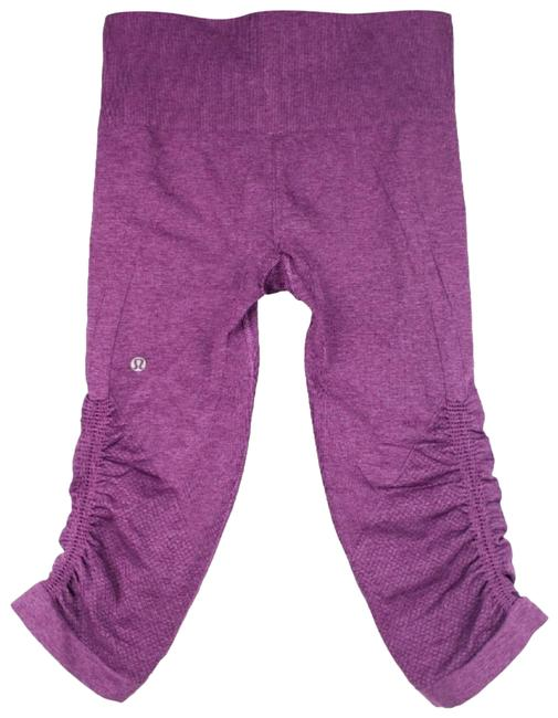 Item - Purple Athletica In The Flow Leggings Activewear Bottoms Size 4 (S)
