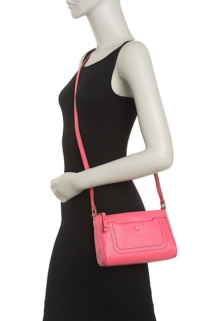 Item - Empire City Cupid Pink with Tag Leather Cross Body Bag