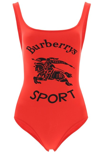 Item - Red Printed Swimsuit One-piece Bathing Suit Size 8 (M)