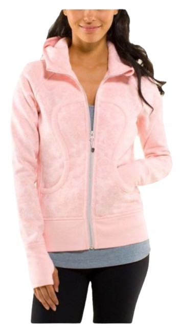 Item - Paisley Pretty Pink Scuba XS Hoodie Activewear Size 2 (XS)