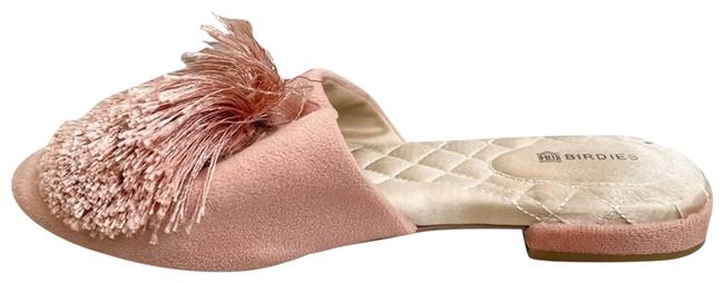 Item - Pink Slippers The Songbird Mule In Blush Flats Size US 5.5 Regular (M, B)