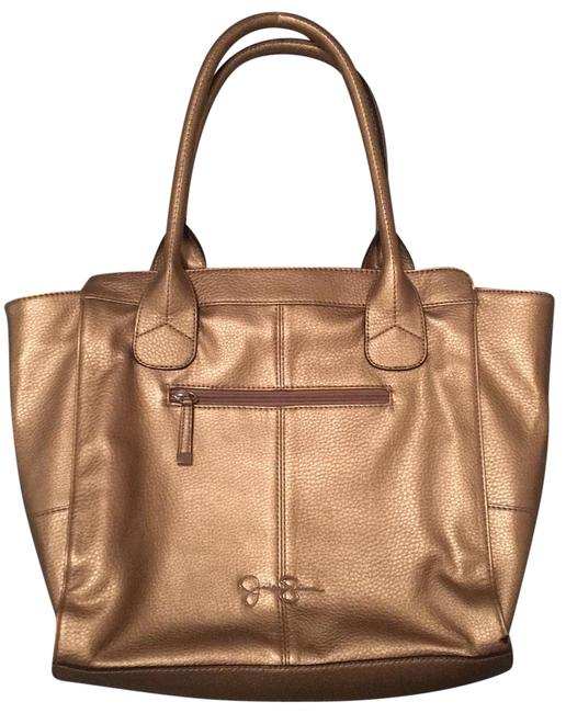 Item - Bag Gold Faux Leather Tote