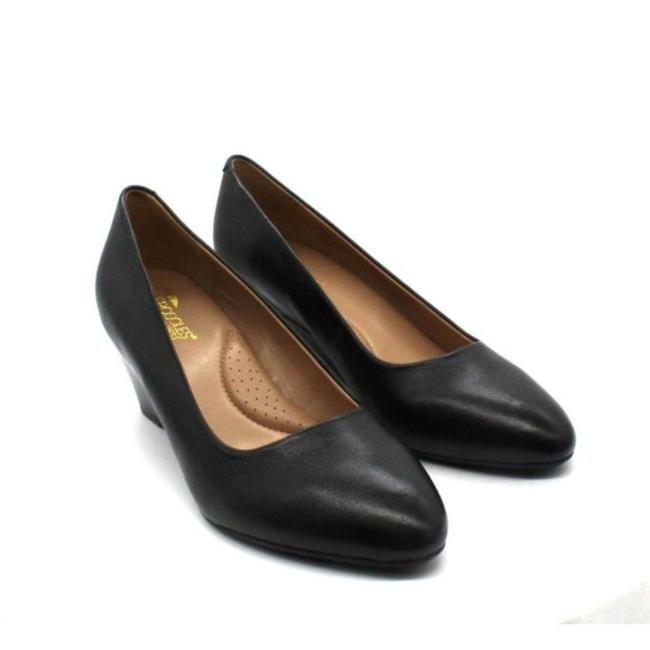 Item - Black Women's Inner Circle Wedges Size US 8.5 Wide (C, D)