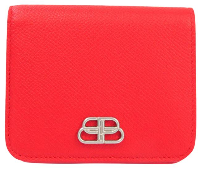 Item - Red Color 601474 Women's Leather (Bi-fold) Wallet