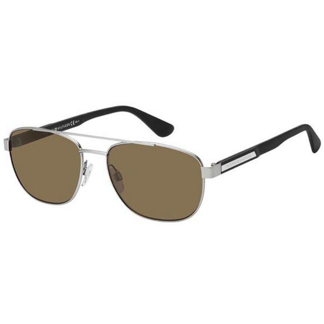 Item - Silver Th-1544s-4es70-59 Size 59mm 17mm 145mm Sunglasses