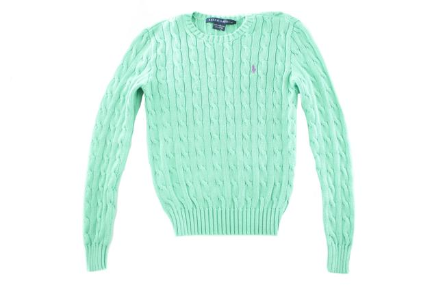 Item - XS Cable Seagreen Size Green Sweater