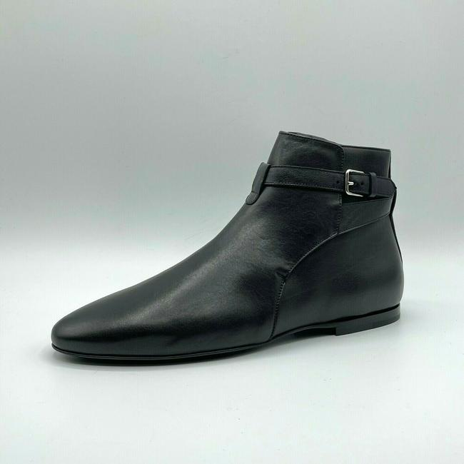 Item - Black Men's Leather Pull Up Ankle Boot Eu 43/Us 10 530638 Shoes