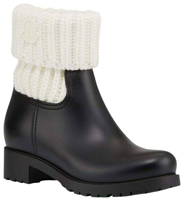 Item - Black Ginette Cuffed Rain Boots/Booties Size US 8 Regular (M, B)