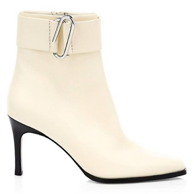 Item - Cream Alix Leather Ankle Boots/Booties Size EU 40 (Approx. US 10) Regular (M, B)