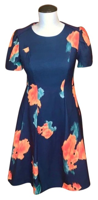 Item - Multicolor Anthropologie Ss Poppy Print Short Casual Dress Size 4 (S)