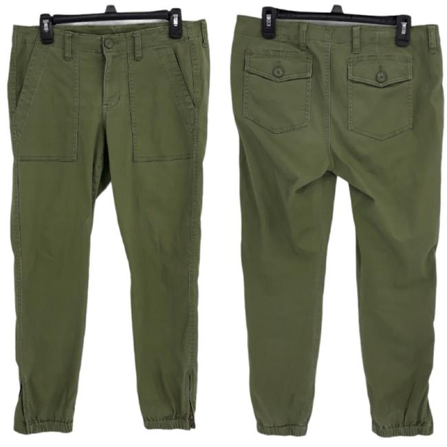 Item - Green 5076 Travelers Cargo Ankle Pants Capris Size 4 (S, 27)