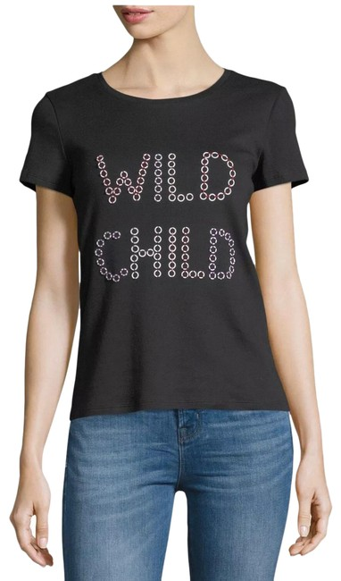 Item - Black And Rylyn Wild S. Tee Shirt Size 4 (S)
