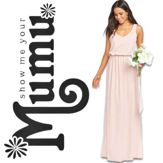 Item - Pink Kendall Casual Maxi Dress Size 6 (S)