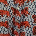 J.Crew Red Collection Silk Twill Roaming Tiger Shirtdress Long Sleeve Short Casual Dress Size 6 (S) J.Crew Red Collection Silk Twill Roaming Tiger Shirtdress Long Sleeve Short Casual Dress Size 6 (S) Image 8