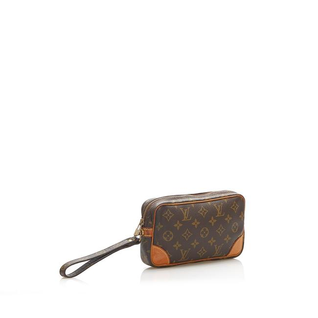 Item - Marly Dragonne Monogram Pm Brown Leather Clutch