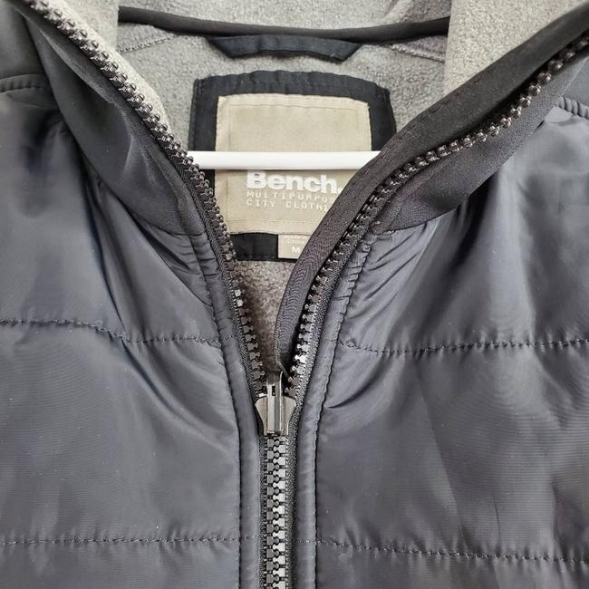 Bench Black Active Wear Fleece Lined Quilted Jacket Vest Size 8 (M) Bench Black Active Wear Fleece Lined Quilted Jacket Vest Size 8 (M) Image 5