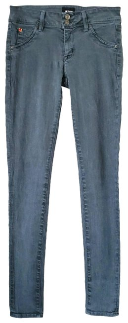 Item - Green Collin Flap Low Skinny Jeans Size 27 (4, S)