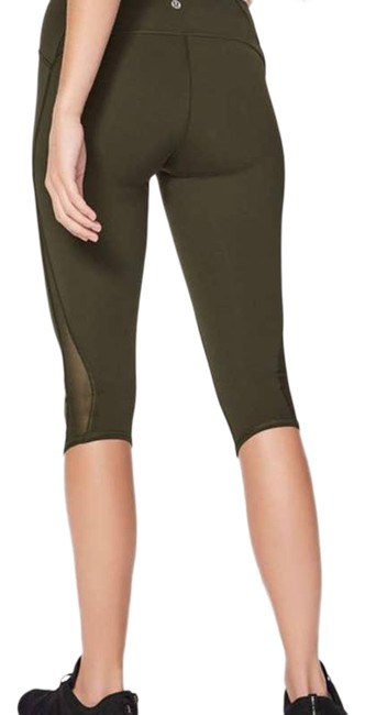 """Item - Green Times 17"""" Dark Olive - Activewear Bottoms Size 6 (S, 28)"""