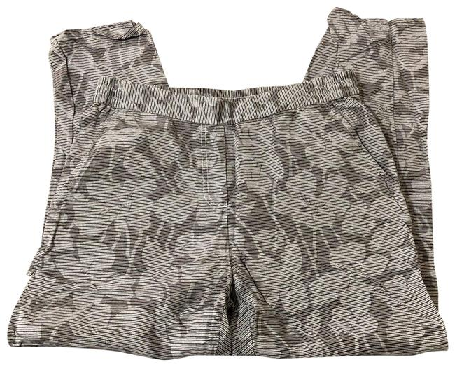 Item - Gray Elastic Patterned - Small Pants Size 4 (S, 27)