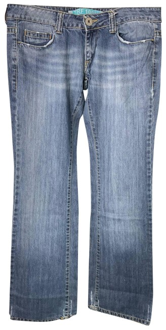 Item - Blue Medium Wash Relaxed Fit Jeans Size 34 (12, L)