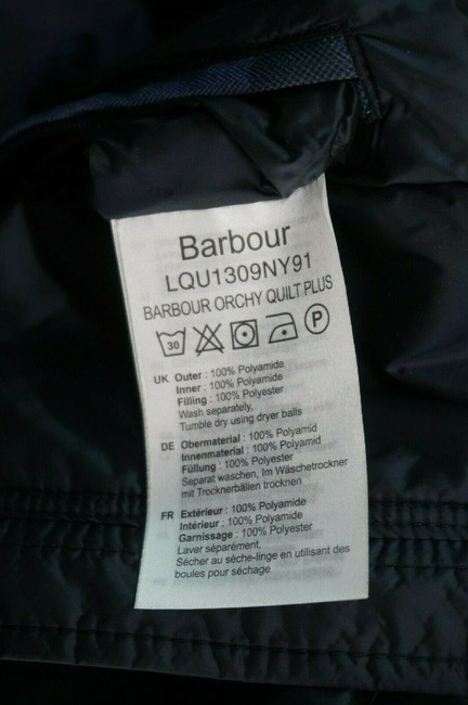 Barbour Black Women's Orchy Hooded Puffer Jacket Coat Size 26 (Plus 3x) Barbour Black Women's Orchy Hooded Puffer Jacket Coat Size 26 (Plus 3x) Image 6