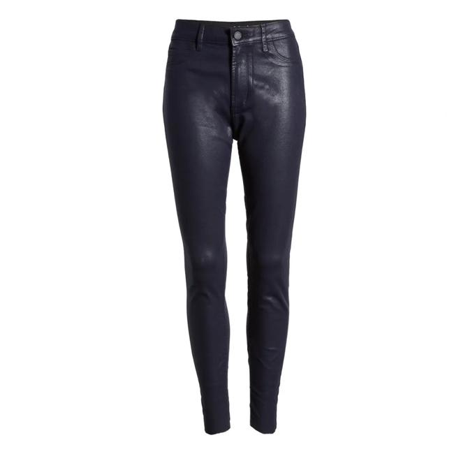 Item - Dark Navy Blue Coated Hillary High Waist 30 Skinny Jeans Size 8 (M, 29, 30)