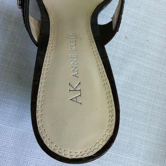 AK Anne Klein brown Sandals