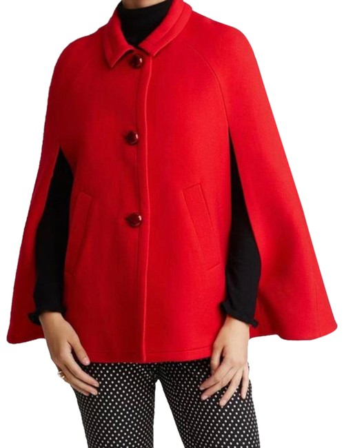 Item - Red Coat Poncho/Cape Size 4 (S)