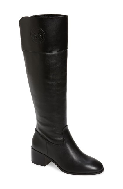 Item - Black Dylyn Leather Dress Riding Boots/Booties Size US 5.5 Regular (M, B)