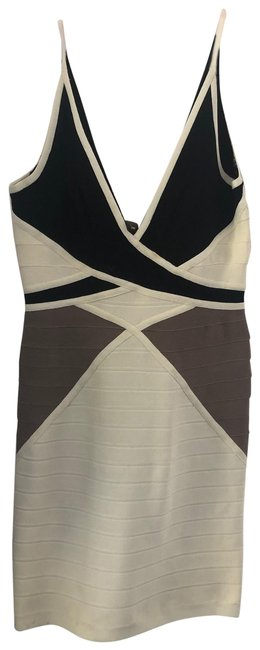 Item - Beige Short Night Out Dress Size 8 (M)