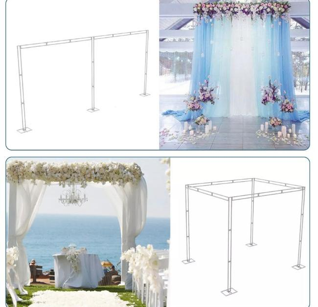 Item - 10ft 4 Post Heavy Duty Backdrop Stage Stand Outdoor Tent Canopy/Chuppah