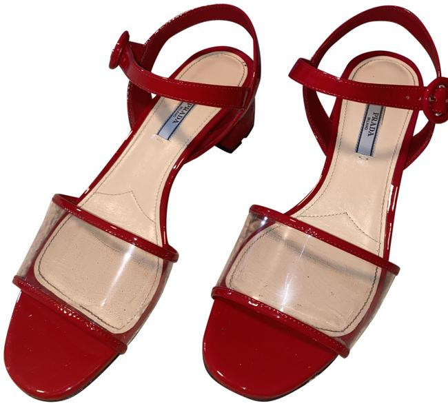 Item - Red Calzature Donna Sandals Size EU 39.5 (Approx. US 9.5) Regular (M, B)