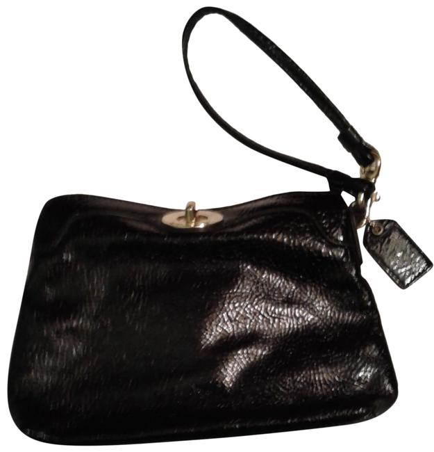 Item - Black Leather Clutch