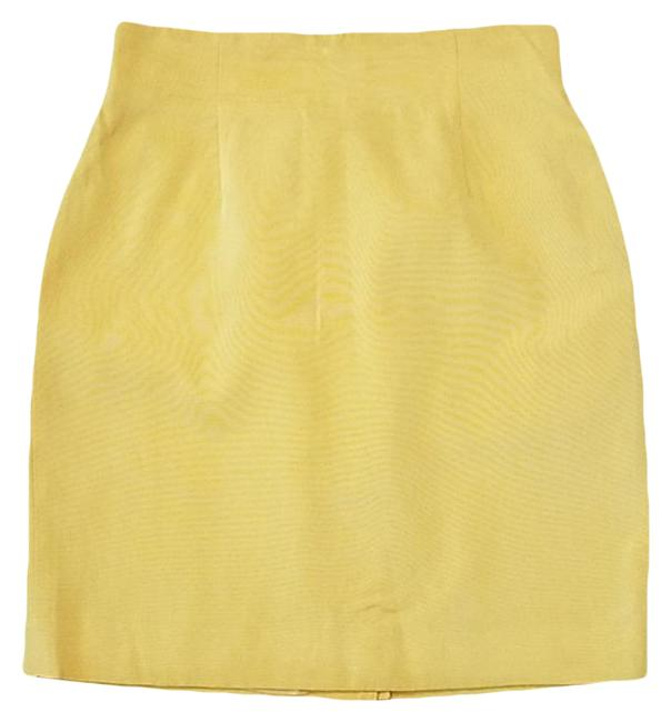 Item - Yellow Canary Skirt Size 14 (L, 34)