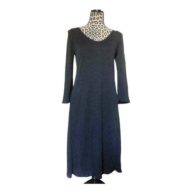Item - Black Vintage 1990s Made In Italy Long Cocktail Dress Size OS