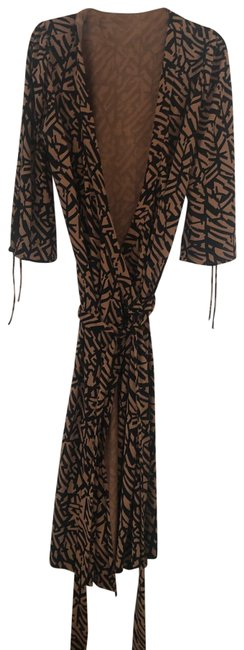 Item - Brown Mid-length Night Out Dress Size 8 (M)