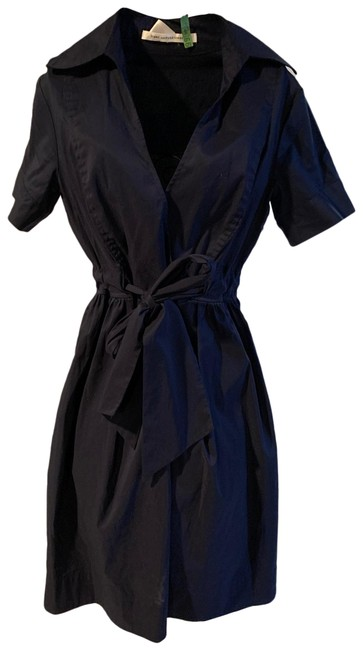 Item - Navy Blue Na Short Casual Dress Size 6 (S)