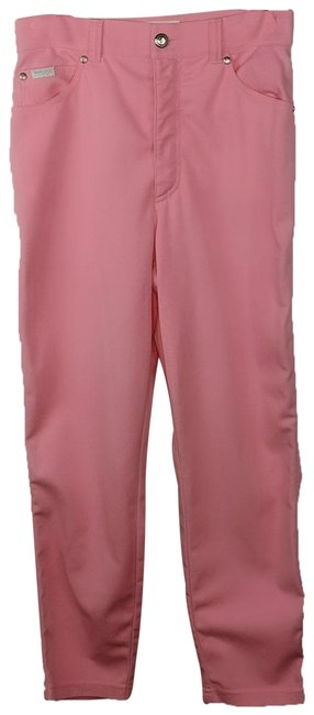 Item - Pink Medium Wash Tapered Relaxed Fit Jeans Size 27 (4, S)